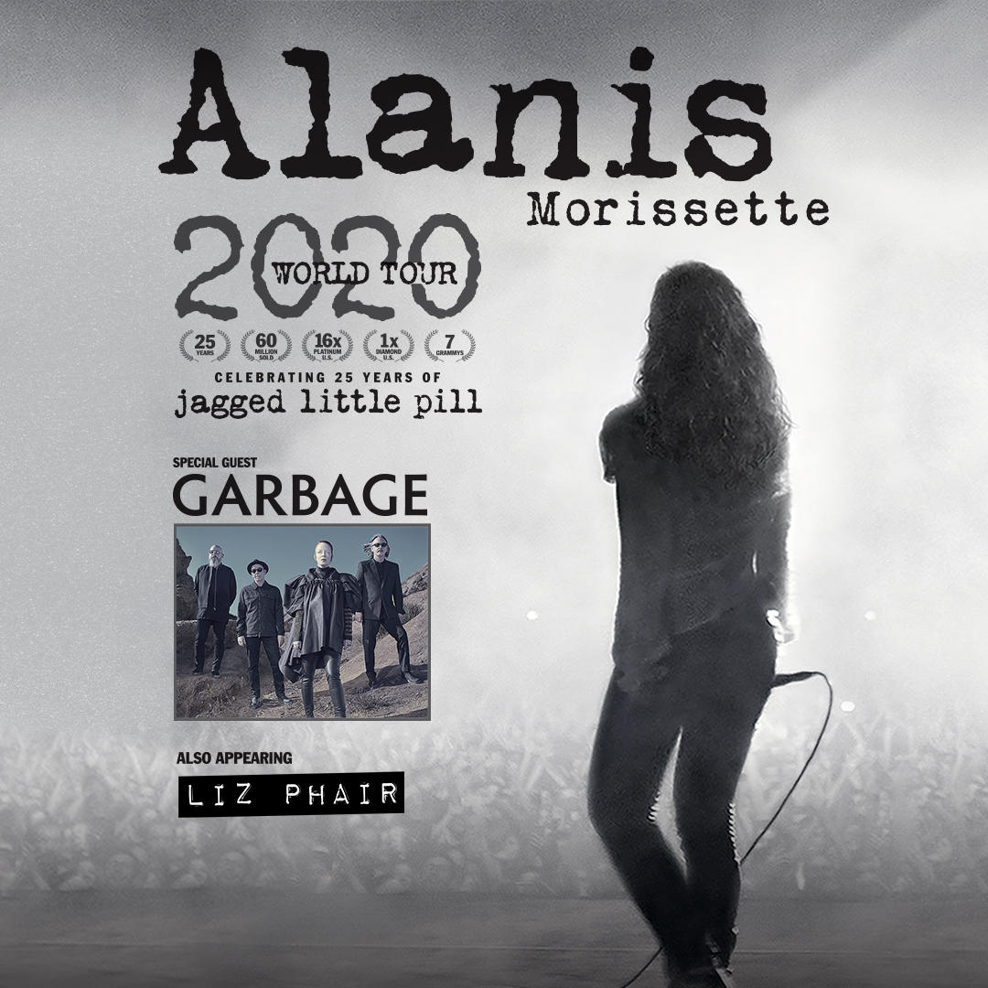 Seven time GRAMMY® Award winning singer/songwriter Alanis Morissette in Salt Lake City on June 7 2020