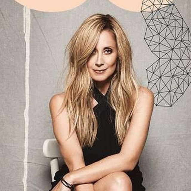Canadian-Belgian singer Lara Fabian in 50 WORLD TOUR in Los Angeles