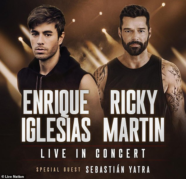 Enrique Iglesias and Ricky Martin 2020 Tour