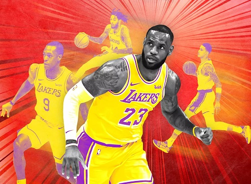 LA LAKERS @ STAPLES from December 21 2018 to April 9 2019