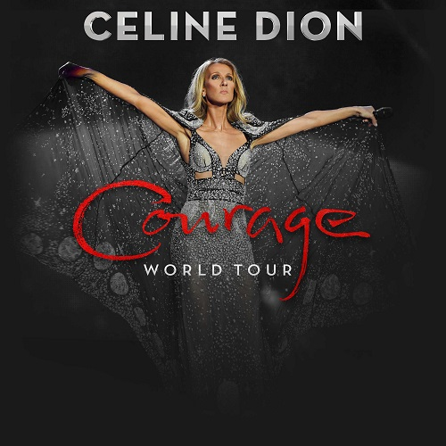 Celine Dion's Courage World Tour — her first global trek in a decade — will kick off in Detroit on November 5 2019