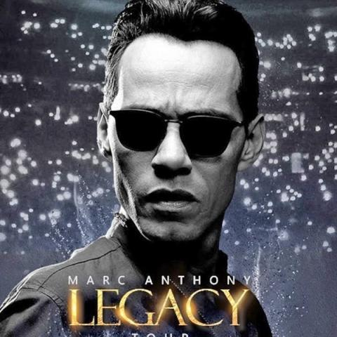 Marc Anthony in his Legacy tour in San Jose February 8 9pm 2019