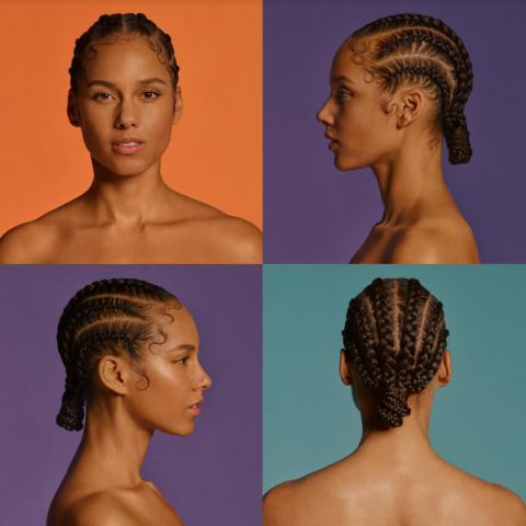"Grammy Award-winning R&B icon Alicia Keys ""The World Tour"" 2020 in Portland on September 2 2020"