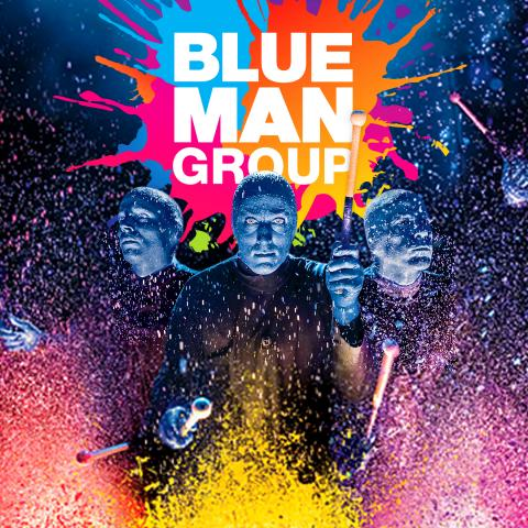 BLUE MAN GROUP in Hollywood