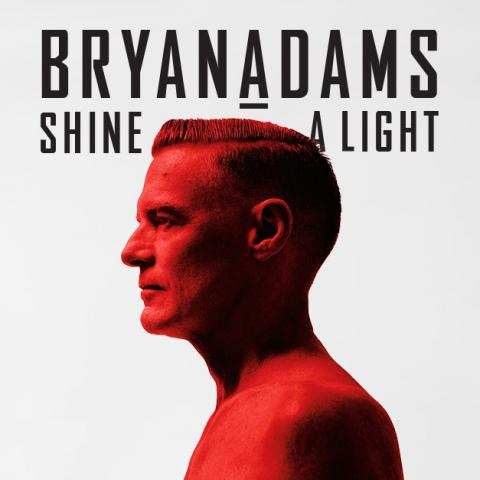 The global superstar Bryan Adams' Shine a Light Tour in Bangor on August 2 2019