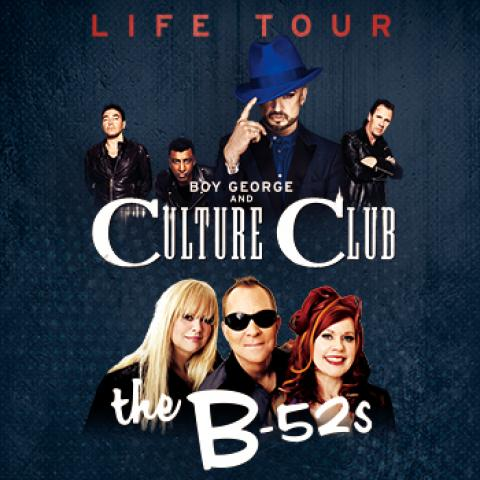 Boy George, Culture Club & The B-52s concert in Los Angeles Greek Theatre October 3 7pm