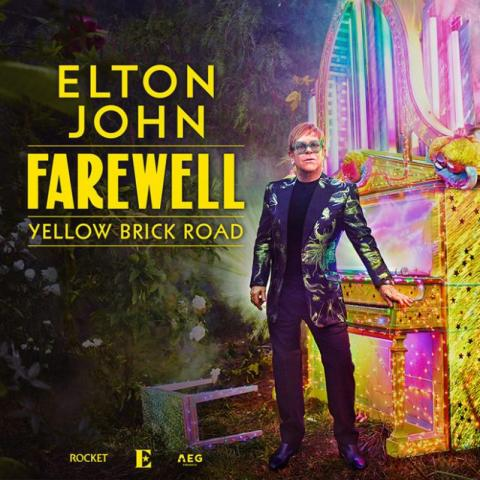 Elton John in Farewell Tour