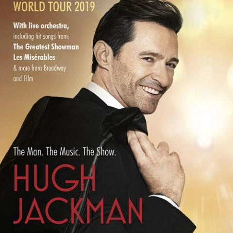 Hugh Jackman is embarking on a global tour in Salt Lake City July 11 7pm 2019