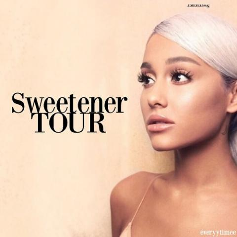 Ariana Grande in new Sweetener World Tour in Phoenix May 14 2019