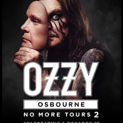 "Ozzy Osbourne ""No More Tours 2"" in Sacramento July 18 2019"