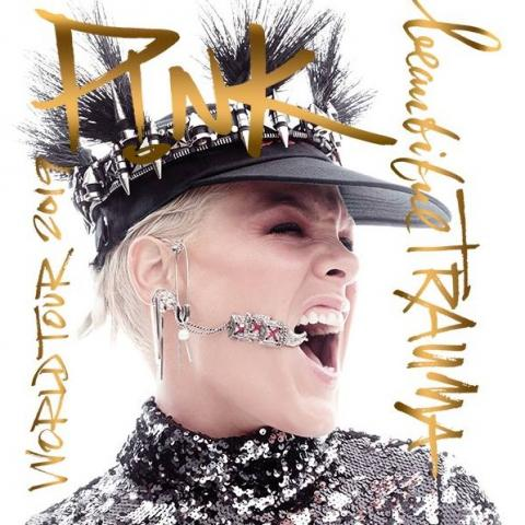 P!NK in Beautiful Trauma World Tour in New York May21 22 2019