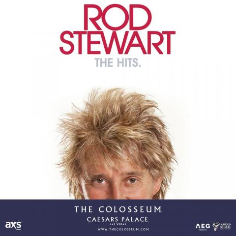 Legendary Rockstar Rod Stewart will return to Las Vegas this fall on September 20,21, 24, 30 October 2, 4 2019