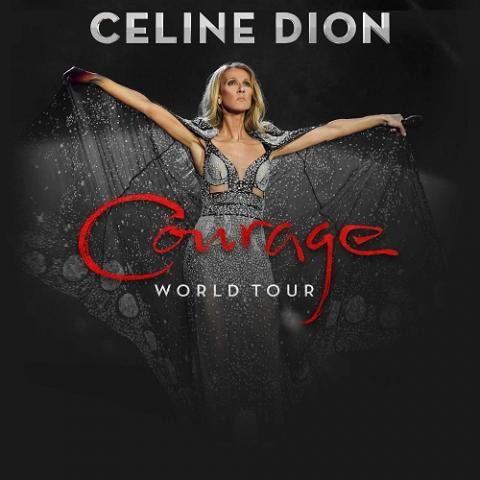 Celine Dion's Courage World Tour — her first global trek in a decade — will kick off in Atlantic City on February 22 2020