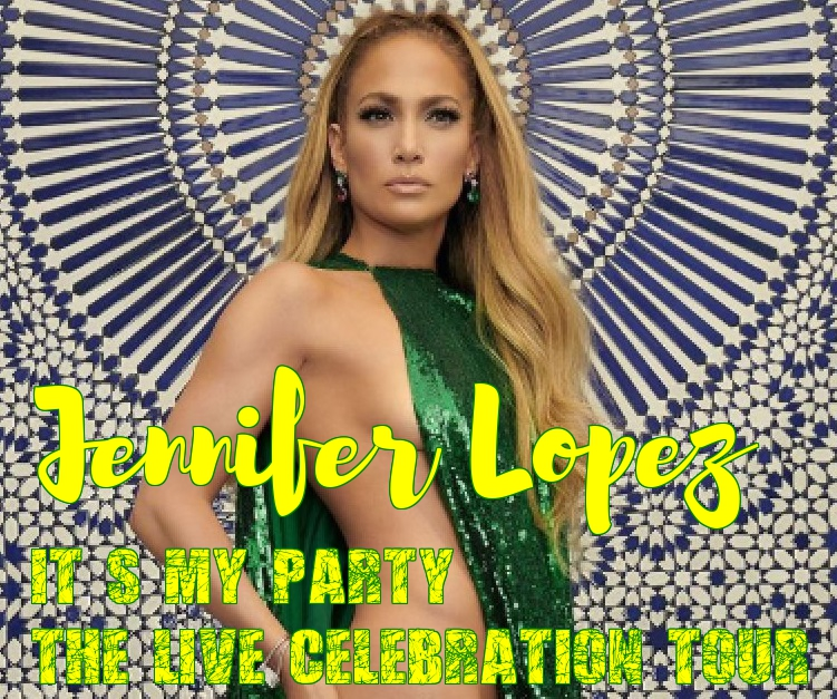 Jennifer Lopez in her second-ever concert tour. The It's My Party: The Live Celebration tour in New York on July 12 2019